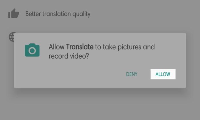 Cara Menggunakan Google Translate Kamera - 4