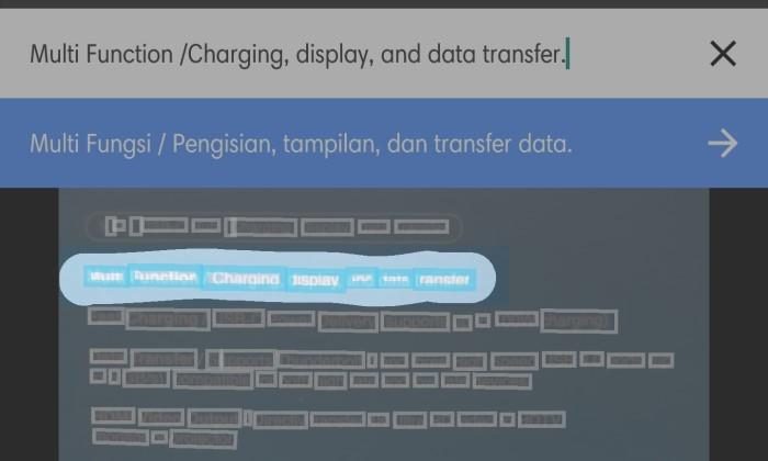 Cara Menggunakan Google Translate Kamera - 8