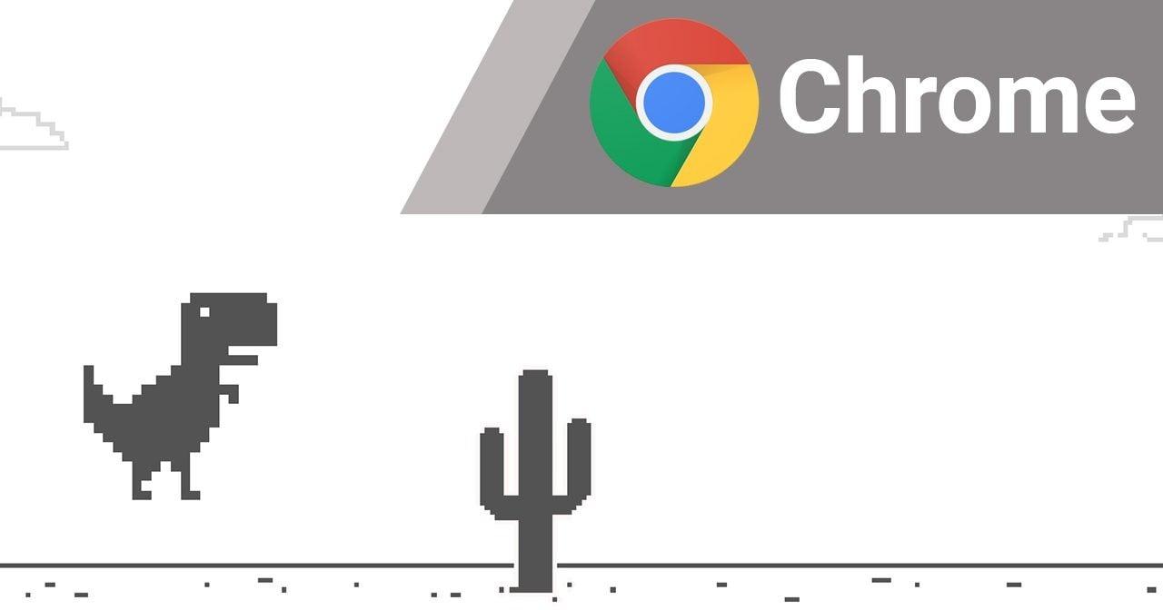 Cara Main Game Dinosaurus di Google Chrome Header