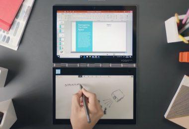 Lenovo Yoga Book C930 Dua Layar Stylus