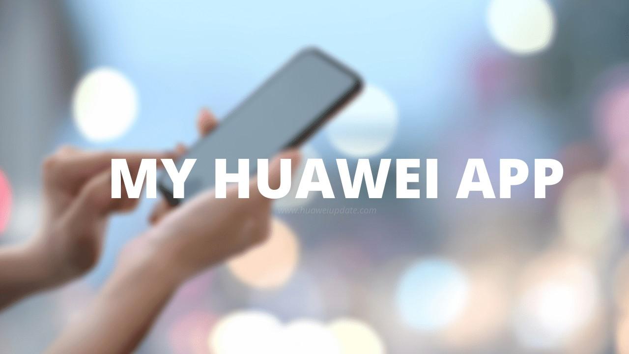 My-Huawei-App