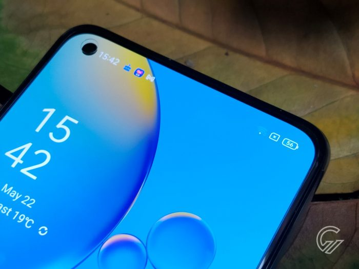 OPPO A74 Half Top Display