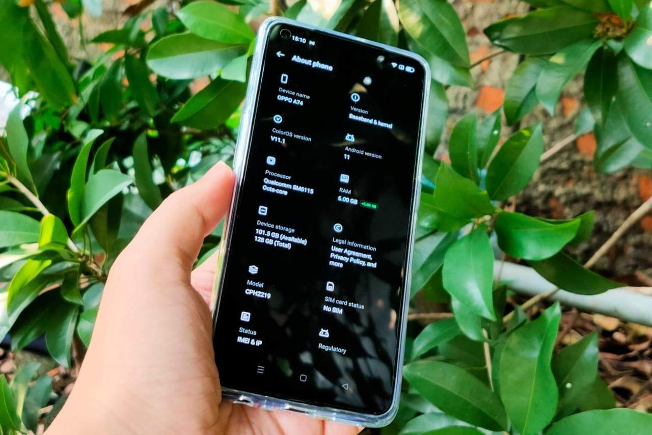 OPPO A74 RAM Expansion Feature