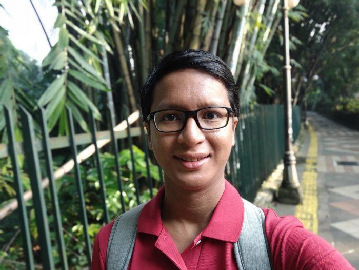 OPPO Find X3 Pro K34 Selfie Portrait