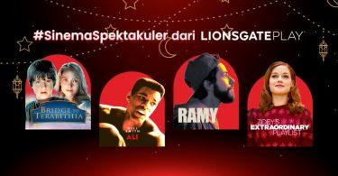 Paket Streaming Lionsgate Play Header