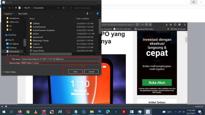 Rekam Layar Laptop Windows 7 Part 7