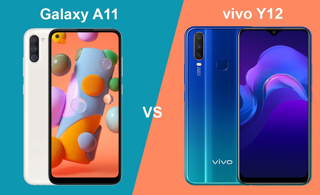 Samsung Galaxy A11 vs vivo Y12