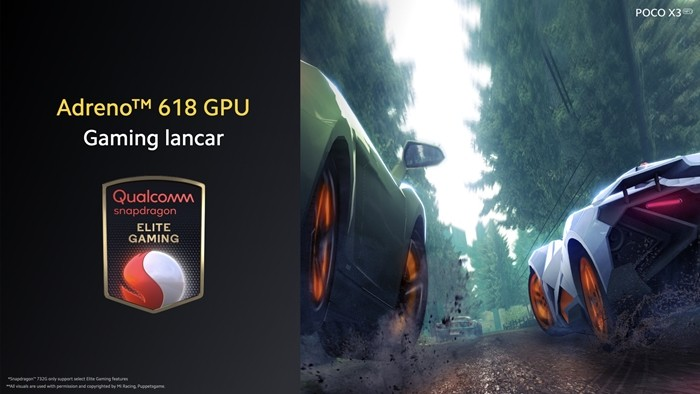 Snapdragon Adreno 618 GPU Elite Gaming