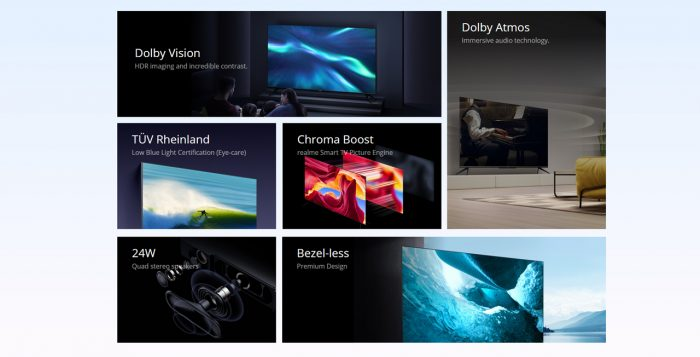realme Smart TV 4K Function