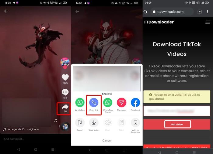 video TikTok Download Part 1