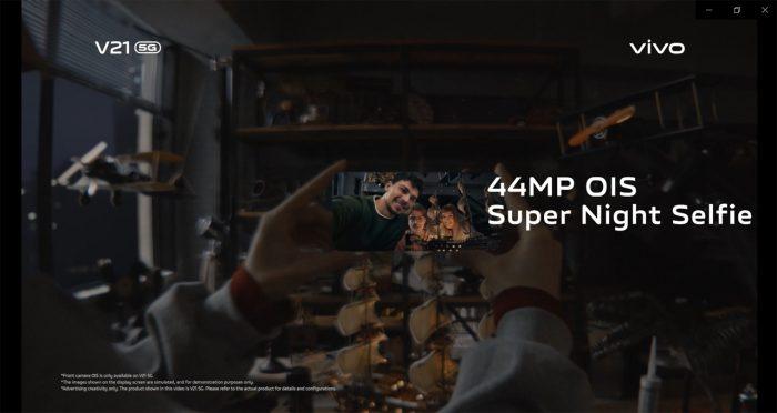 vivo V21 5G 44MP OIS