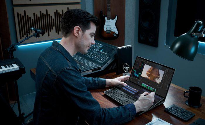 ASUS ZenBook Pro Duo 15 OLED Video Editing
