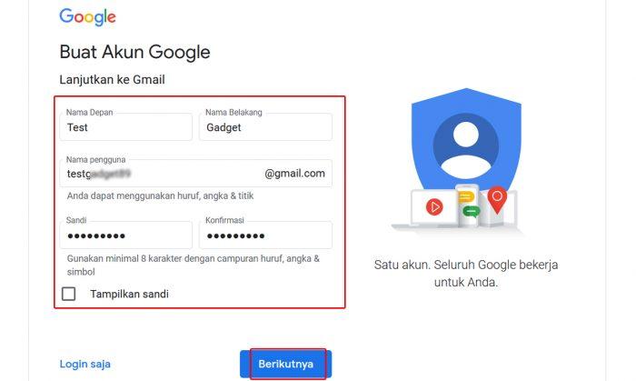 Buat Akun Gmail Web Part 2