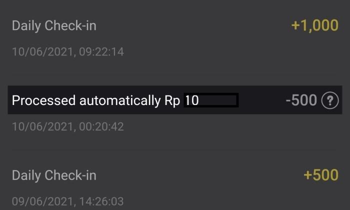 Cara Menghitung Koin SnackVideo ke Rupiah - 3