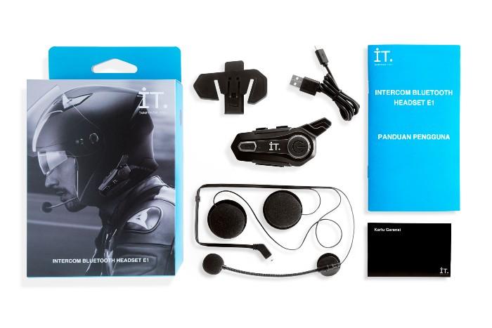 IT Intercom Bluetooth Headset E1