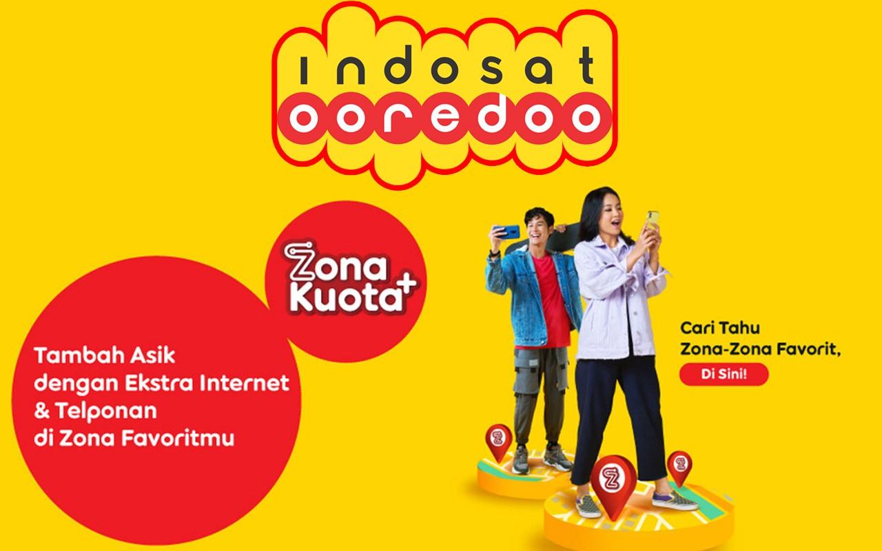 Indosat Ooredoo Zona Kuota Plus Feature