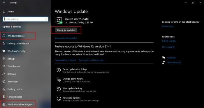 Insider Windows 11