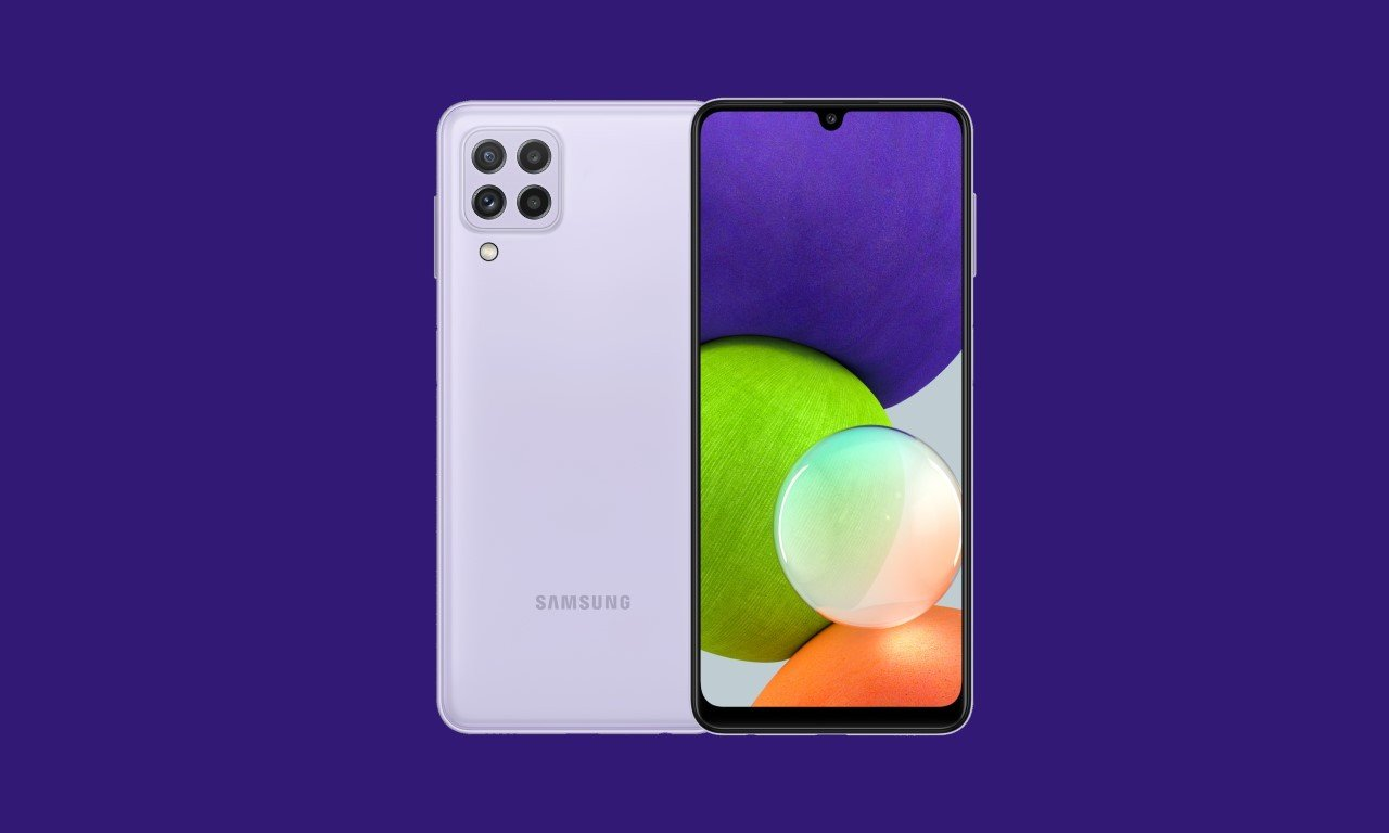 Cara Screenshot Samsung A22 Header