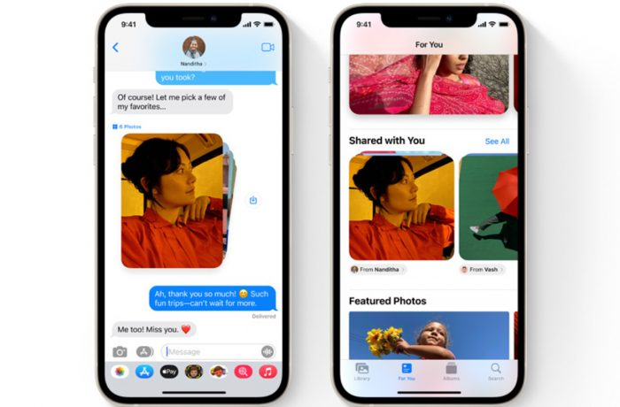 Messages iOS 15