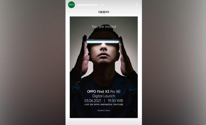 OPPO Find X3 Pro 5G Rilis Indonesia