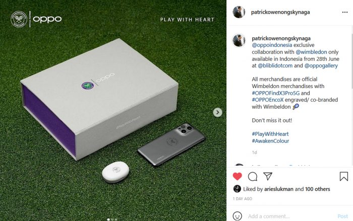 OPPO Find X3 Pro Wimbledon