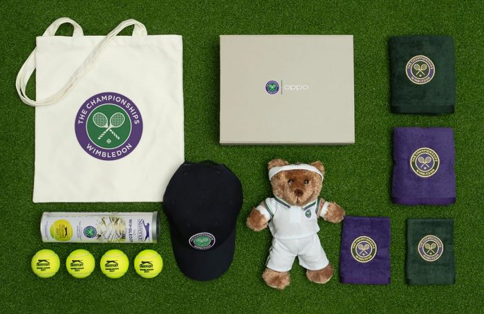OPPO Find X3 Pro Wimbledon Special Edition Merchandise