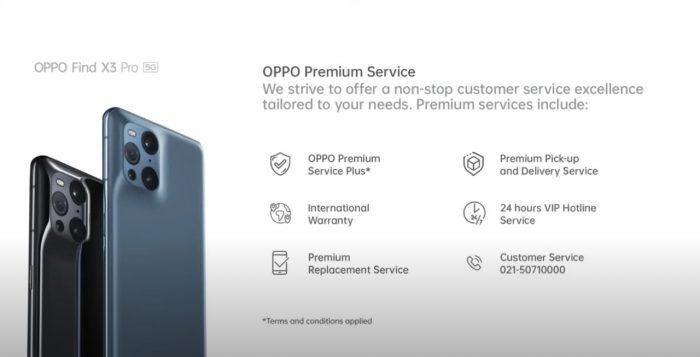 OPPO Premium Service Benefit