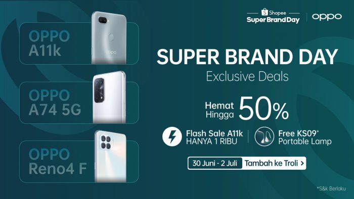 OPPO Shopee Super Brand Day Feature