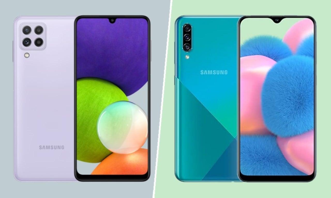 Samsung Galaxy A22 Vs Samsung Galaxy A30s Header