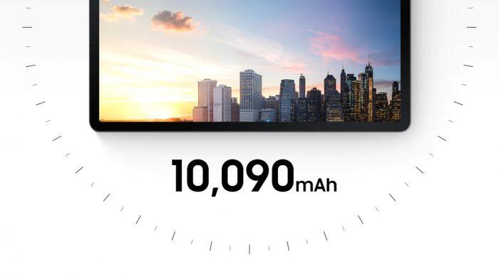 Samsung Galaxy Tab S7 FE 5G Battery