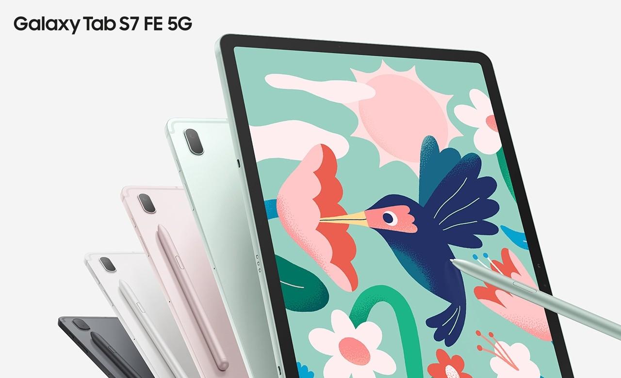Samsung Galaxy Tab S7 FE 5G Feature
