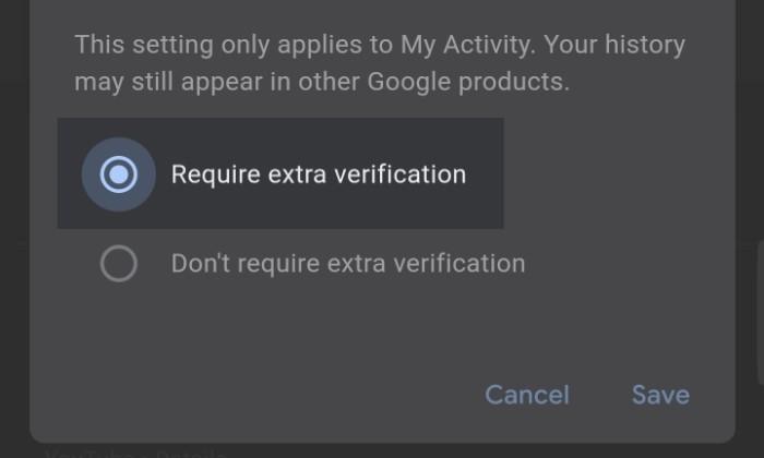 Sembunyikan Aktivitas Google 3