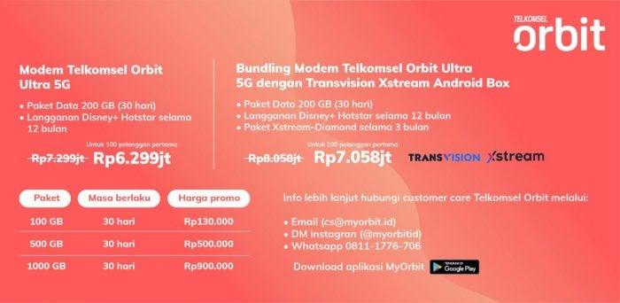 Telkomsel Orbit 5G
