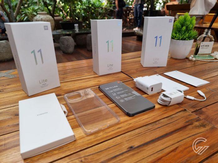Kelebihan dan Kekurangan Xiaomi Mi 11 Lite - Paket