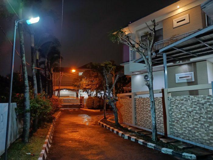 realme 8 5G Kamera Belakang Malam Rumah Nightscape