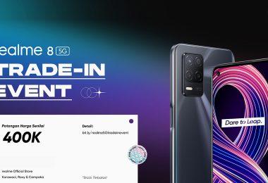 realme 8 5G Trade In Event Feature