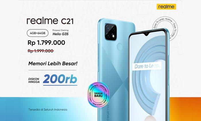 realme C21 Diskon