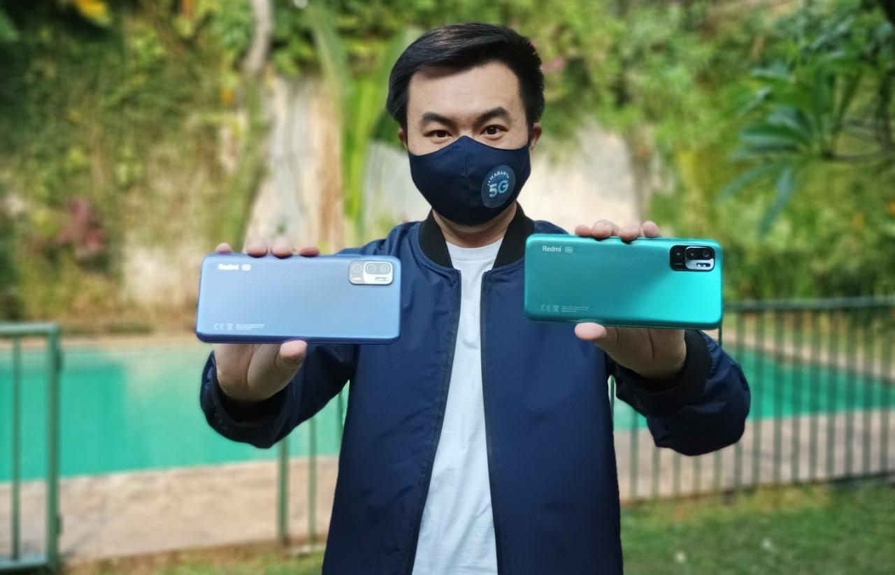 Alvin-Tse-dengan-Redmi-Note-10-5G