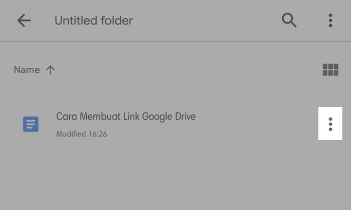 Cara Membuat Link Google Drive Untuk Dibagikan - 1