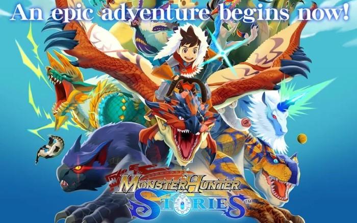 Game RPG Offline - Monster Hunter Stories