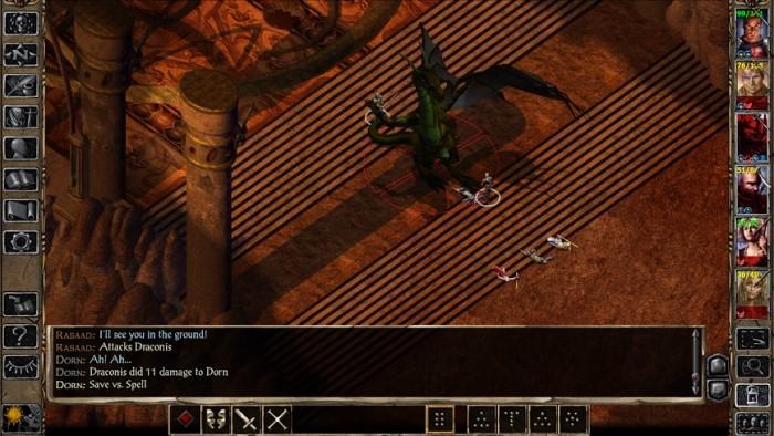 Game RPG Terbaik Android - Baldur Gate II