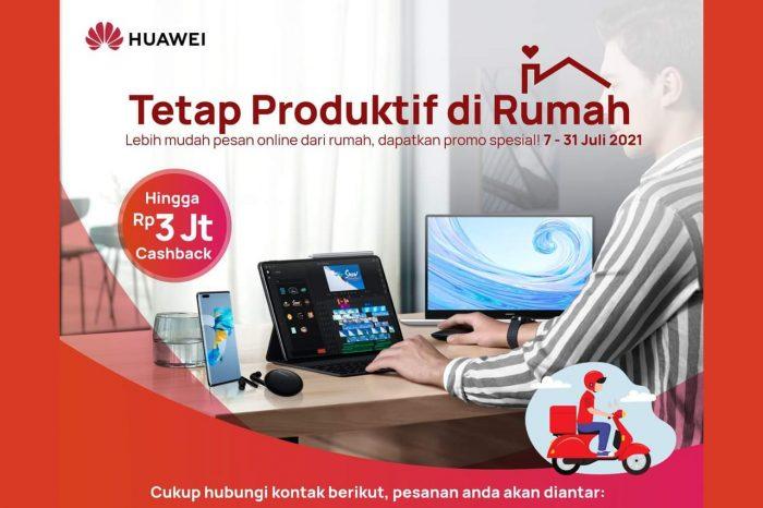 Huawei Tetap Produktif dari Rumah