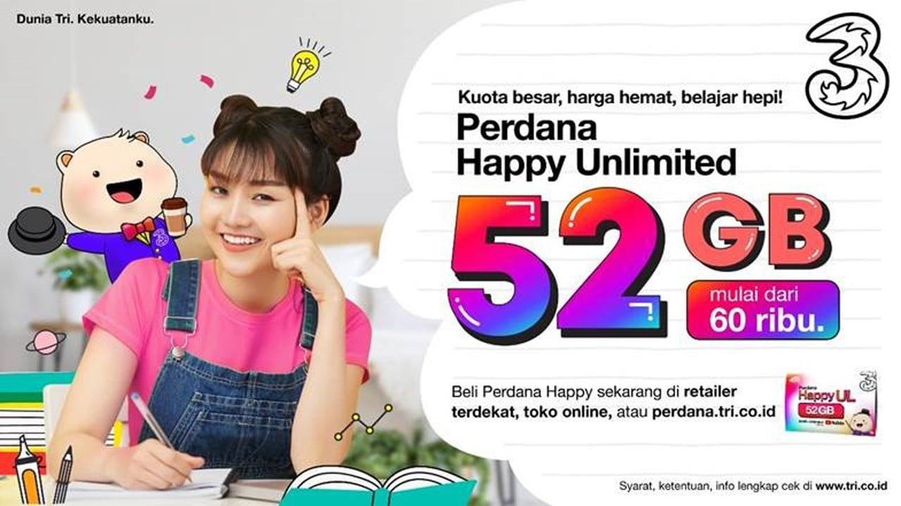 Kartu Perdana Happy Unlimited