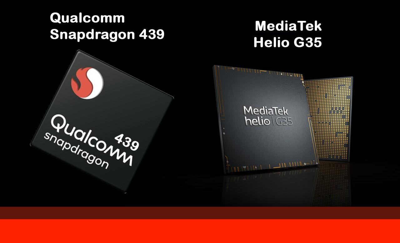 Qualcomm Snapdragon 439 vs Helio G35