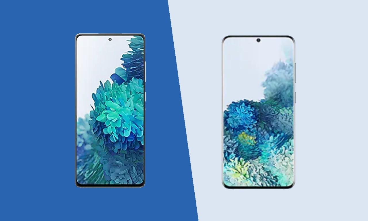 Samsung Galaxy S20 FE Vs Samsung Galaxy S20 Header