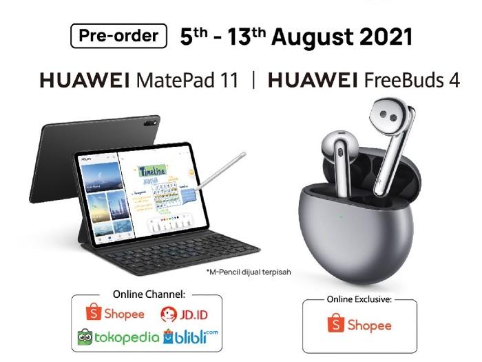 Tanggal-Pre-order-Huawei-MatePad-11-dan-Huawei-FreeBuds-4