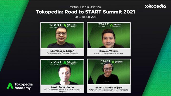 Tokopedia Start Summit 2021 Acara Briefing