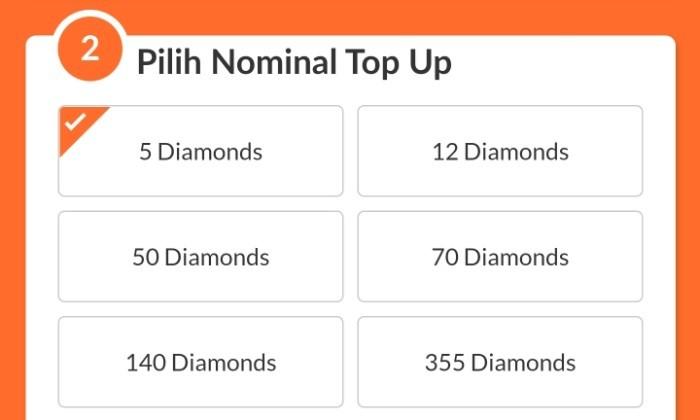 Top Up FF Pulsa Telkomsel - 10