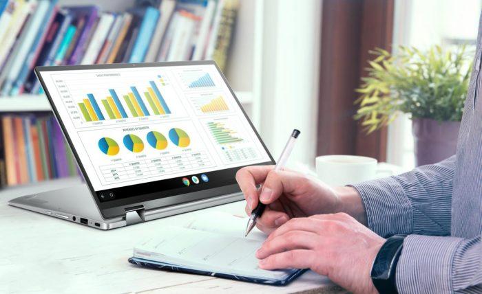 ASUS Chromebook Flip C434 Display