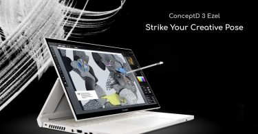 Acer ConceptD 3 Ezel Pro Header